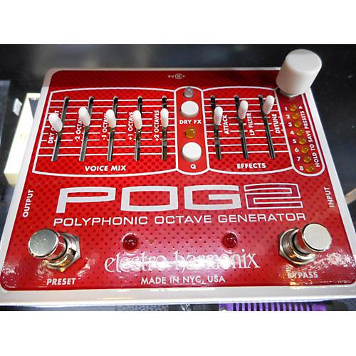 Electro-Harmonix Pog2 Polyphonic Octave Generator Effect Pedal