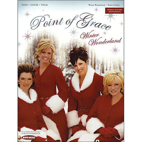 Word Music Point Of Grace - Winter Wonderland arranged for piano, vocal, and guitar (P/V/G)-thumbnail