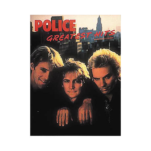 Hal Leonard Police - Greatest Hits Piano, Vocal, Guitar Songbook-thumbnail