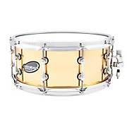 Ahead Polished Cast Bell Brass Snare Drum