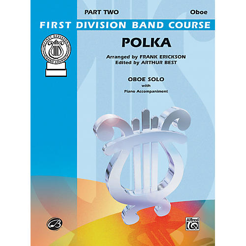 Alfred Polka Oboe Solo First Division Band Course-thumbnail