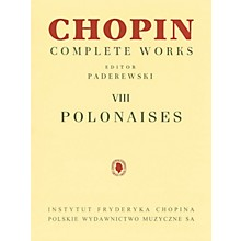 PWM Polonaises (Chopin Complete Works Vol. VIII) PWM Series Softcover