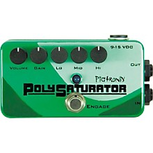 Pigtronix PolySaturator Distortion Guitar Effects Pedal Level 1