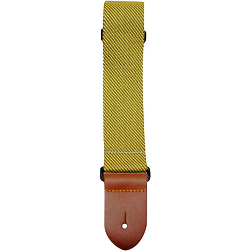 Perri's Polyester Guitar Strap with Leather Ends-thumbnail