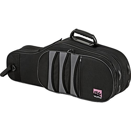 WolfPak Polyfoam Alto Saxophone Case Black