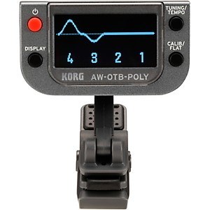 Korg Polyphonic Clip-on Tuner for Bass Guitar
