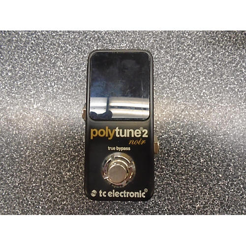 TC Electronic Polytune II NOIR Tuner Pedal