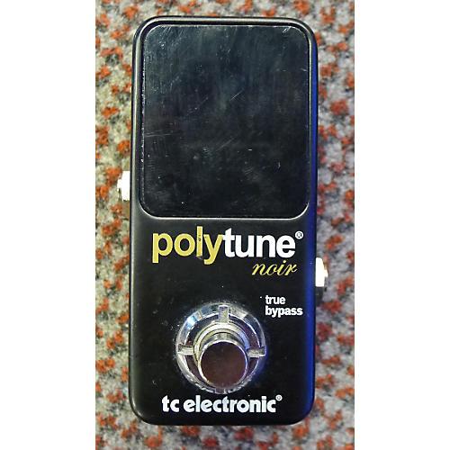 TC Electronic Polytune Noir Tuner Pedal-thumbnail