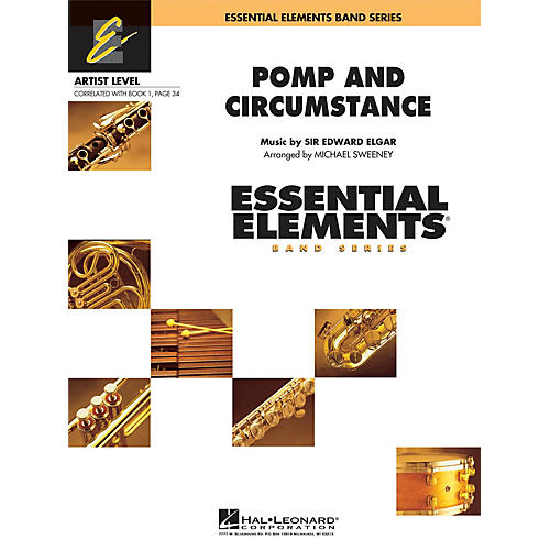 Hal Leonard Pomp and Circumstance Concert Band Level 1 Arranged by Michael Sweeney