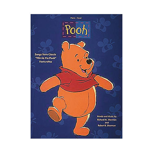 Hal Leonard Pooh Piano/Vocal/Guitar Songbook