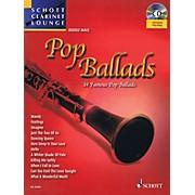 Schott Pop Ballads (Schott Clarinet Lounge) Woodwind Series BK/CD