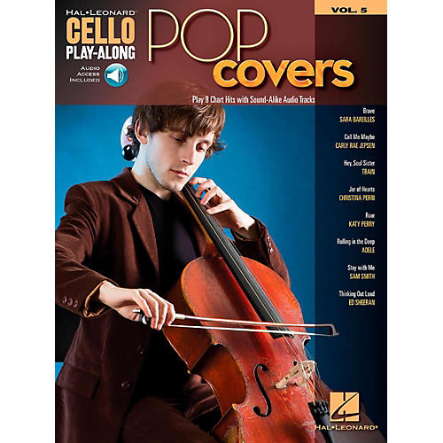 Hal Leonard Pop Covers - Cello Play-Along Volume 5 Book/Audio Online-thumbnail