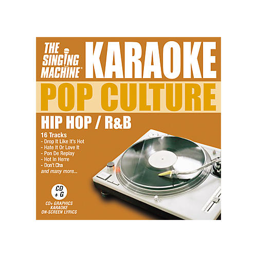 The Singing Machine Pop Culture Hip Hop/R'n'B Karaoke CD+G