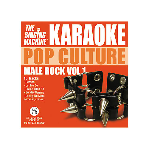 The Singing Machine Pop Culture Male Rock Volume 1 Karaoke CD+G