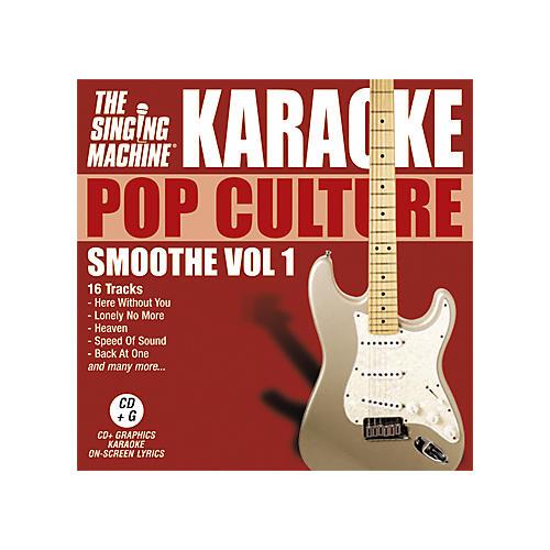 The Singing Machine Pop Culture Smoothe Volume 1 Karaoke CD+G