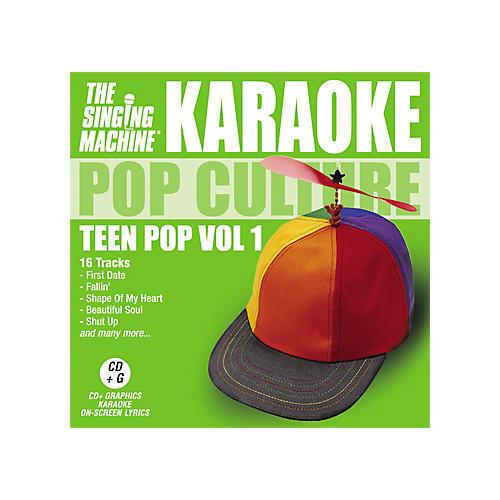 The Singing Machine Pop Culture Teen Pop Volume 1 Karaoke CD+G