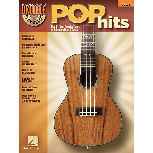 Hal Leonard Pop Hits - Ukulele Play-Along Series Volume 1 Book/CD