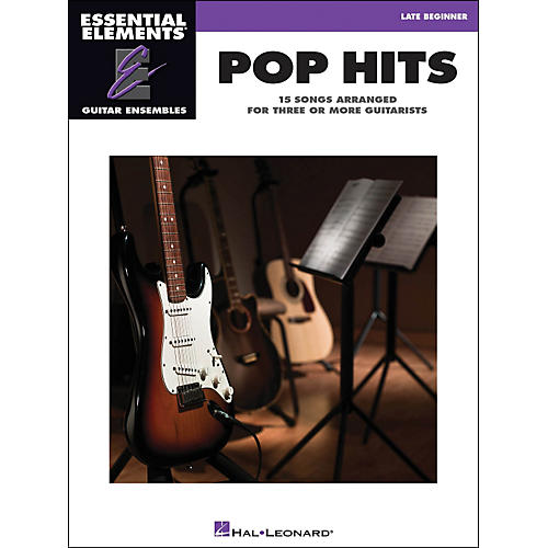 Hal Leonard Pop Hits Essential Elements Guitar Ensembles Late Beginner-thumbnail