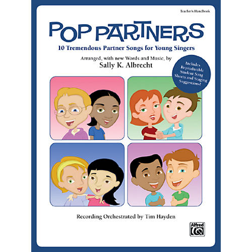 Alfred Pop Partners Book & CD