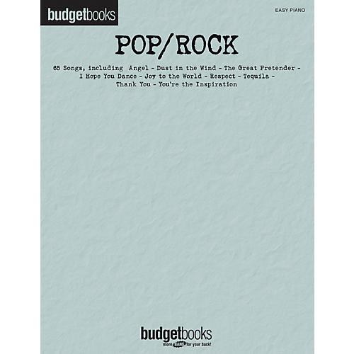 Hal Leonard Pop/Rock - Budget Book Series For Easy Piano