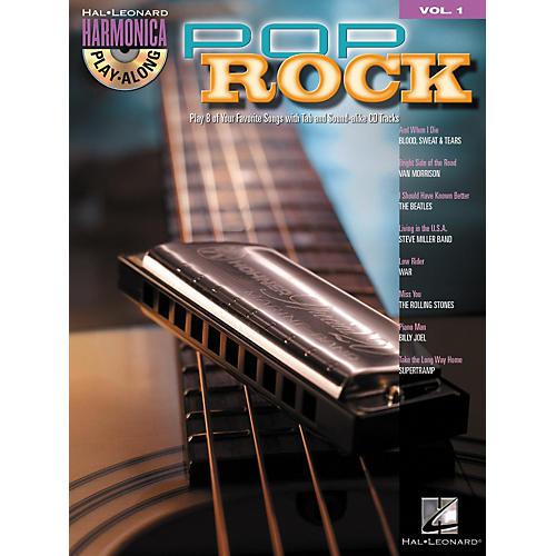 Hal Leonard Pop Rock - Harmonica Play-Along Series, Volume 1 (Book/CD)-thumbnail