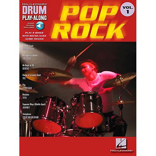 Hal Leonard Pop Rock Drum Play-Along Volume 1 Book with CD-thumbnail