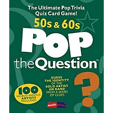 Music Sales Pop The Question 50's & 60's - The Ultimate Pop Trivia Quiz Card Game
