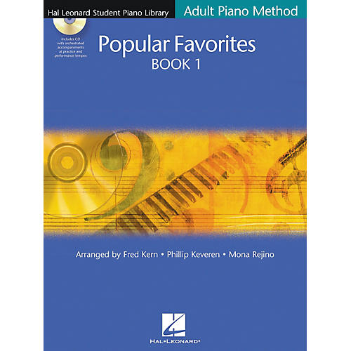 Hal Leonard Popular Favorites Book 1 (Book/CD)