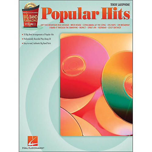 Hal Leonard Popular Hits Big Band Play-Along Volume 2 Tenor Sax-thumbnail