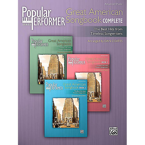 Alfred Popular Performer: Great American Songbook Complete - Advanced Book-thumbnail