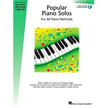 Hal Leonard Popular Piano Solos 2nd Edition - Level 4 Educational Piano Library Series Softcover with CD by Various