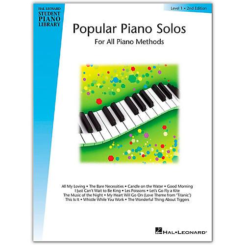 Hal Leonard Popular Piano Solos Book 1 Hal Leonard Student Piano Library bt Bill Boyd