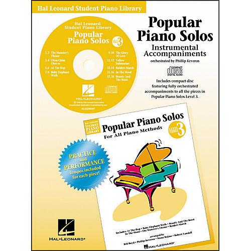 Hal Leonard Popular Piano Solos Book 3 Accompaniment CD Hal Leonard Student Piano Library by Phillip Keveren