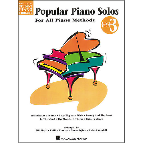 Hal Leonard Popular Piano Solos Book 3 Hal Leonard Student Piano Library by Bill Boyd-thumbnail