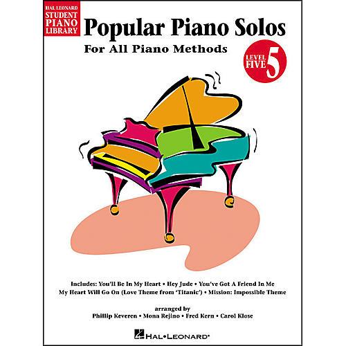 Hal Leonard Popular Piano Solos Book 5 Hal Leonard Student Piano Library-thumbnail