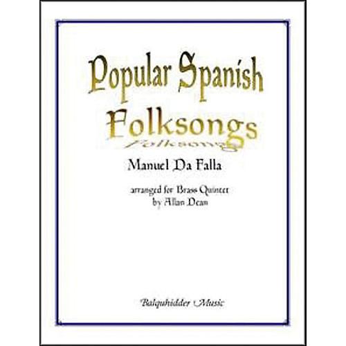 Carl Fischer Popular Spanish Folksongs Book