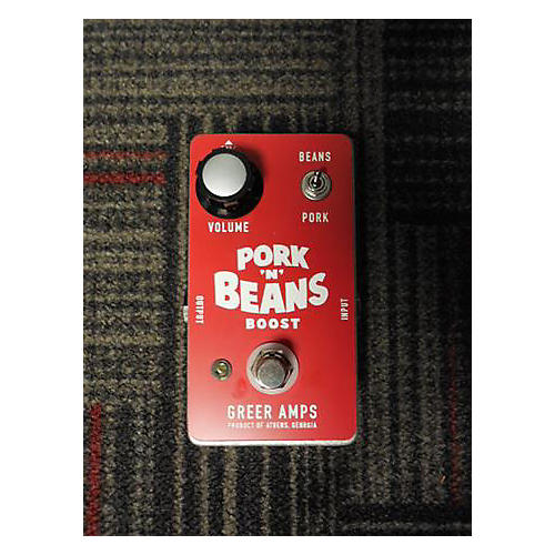 In Store Used Pork N Beans Boost Effect Pedal-thumbnail