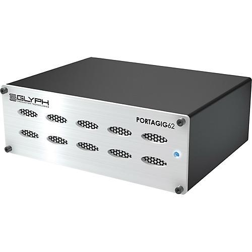 Glyph Porta Gig 62 Portable RAID Hard drive 7200RPM Portable RAID Bus PWR 1 TB External Hard Drive