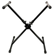 Peak Music Stands Portable Keybord Stand-Single Brace with Quick Lock Button Mechanism