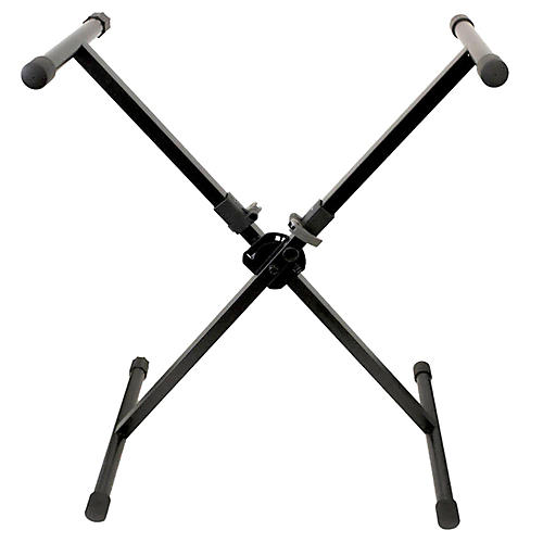 Peak Music Stands Portable Keybord Stand-Single Brace with Quick Lock Button Mechanism-thumbnail