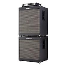 Ampeg Portaflex PF800 Head, PF-410HLF 4x10/PF-115LF 1x15 800W Bass Amp Stack