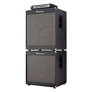 Ampeg Portaflex PF800 Head, PF-410HLF 4x10/PF-115LF 1x15 800 Watt Bass Amp Stac...
