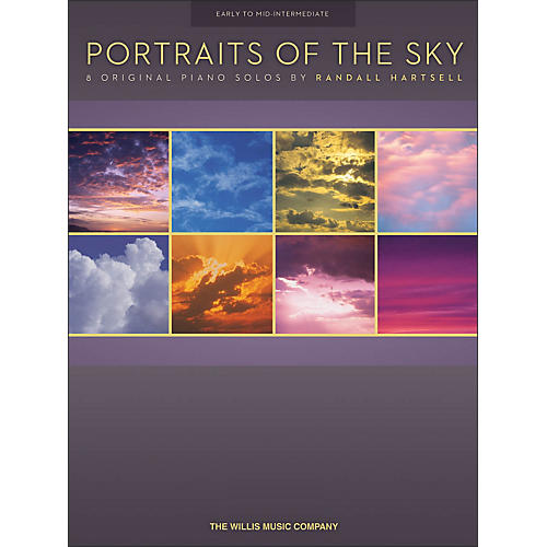 Willis Music Portraits Of The Sky - 8 Early To Mid-Intermediate Piano Solos-thumbnail