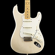 Postmodern Journeyman Relic Stratocaster Maple Fingerboard Electric Guitar Aged White Blonde