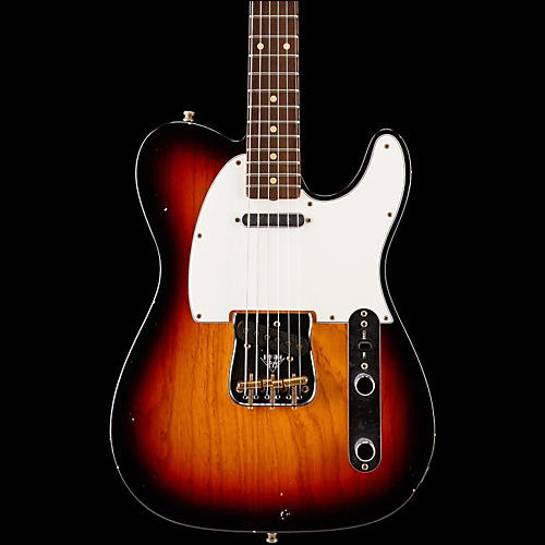 Fender Custom Shop Postmodern Journeyman Relic Telecaster Electric Guitar Rosewood Fingerboard-thumbnail