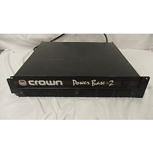 Pre-owned Crown Power Base 2 Power Amp by Crown