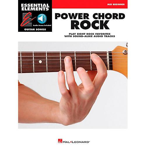 Hal Leonard Power Chord Rock - Essential Elements Guitar Songs (Book/CD) Mid Beginner-thumbnail