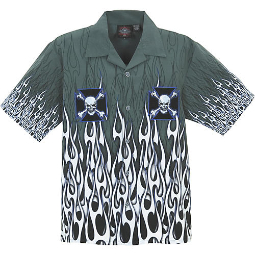Dragonfly Clothing Company Power Embroidered Woven Shirt