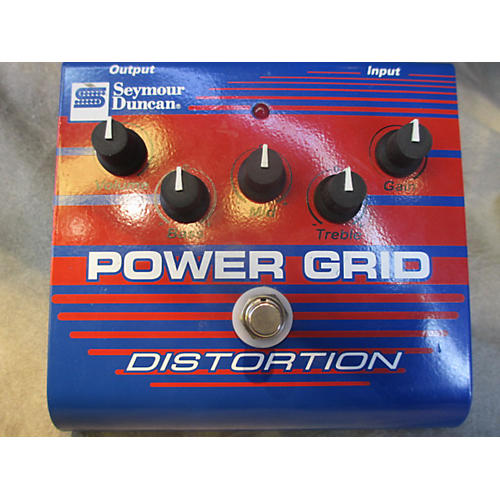 Seymour Duncan Power Grid Distortion Effect Pedal