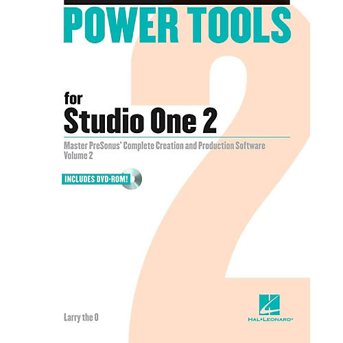 Hal Leonard Power Tools For Studio One 2 Book/DVD-ROM-thumbnail